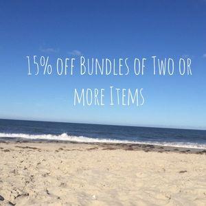 Other - 15% off bundles